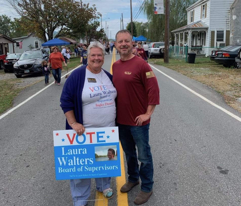 Laura has a history of working hard and her strength is getting things done. She is always open to listening to ideas and solving problems. Please join me in supporting Laura Walters for Ingles District Board of Supervisors and elect for her on November 5th.